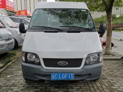 福特 经典全顺  2013款 2.8T柴油普通型短轴中顶JX493ZLQ4图片