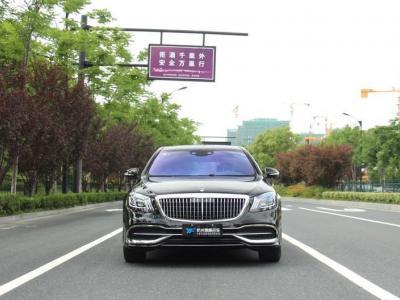 2019年7月 奔驰 迈巴赫S级 S 450 4MATIC图片