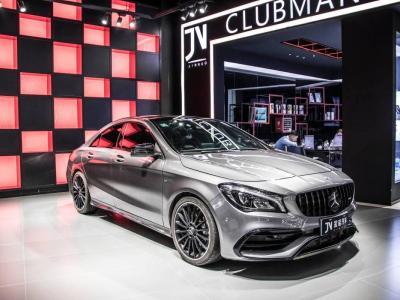 奔驰 奔驰CLA级AMG  2017款 改款 AMG CLA 45 4MATIC