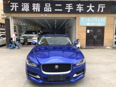 捷豹 XE  2018款 2.0T 250PS 两驱R-Sport运动版图片