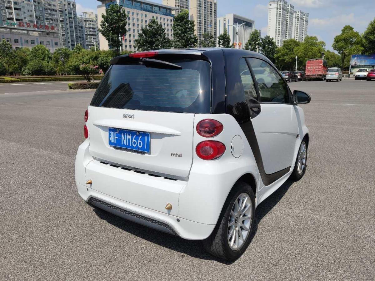 smart fortwo  2012款 1.0 MHD 硬顶舒适版图片