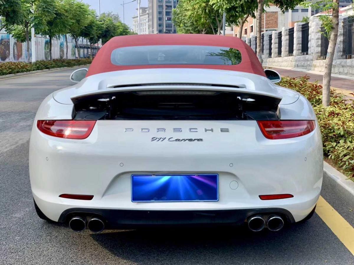 保时捷 911  2013款 Carrera 4 Cabriolet 3.4L图片