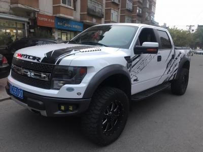 福特 F-150  2011款 6.2L SVT Raptor SuperCrew