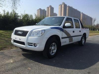 014年12月江铃宝典2.8T 两驱柴油舒适时尚版-2008年7月 二手6座蓝