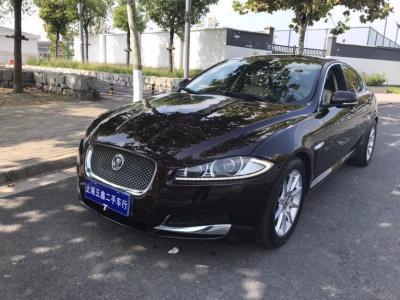 捷豹 XF  2013款 XF 2.0T 豪華版