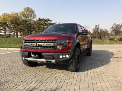 福特 F-150  2011款 6.2L SVT Raptor SuperCrew圖片