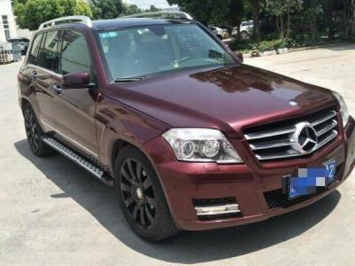奔馳 奔馳GLK級  2011款 GLK 300 4MATIC 豪華型