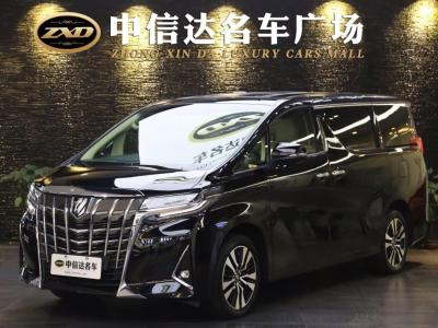2019年1月 豐田 埃爾法(進口) 改款 3.5L 豪華版圖片
