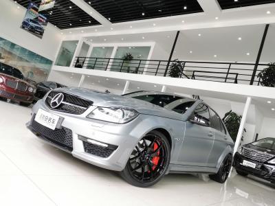 奔驰 奔驰C级AMG  2014款 AMG C 63 Edition 507
