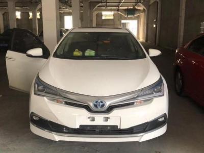 2018年3月 丰田 卡罗拉 双擎 1.8L E-CVT智尚版图片