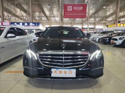 奔馳 奔馳E級  2016款 E 300 L 豪華型