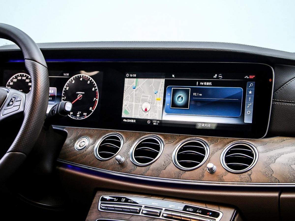 奔驰 奔驰E级  2018款 改款 E 300 L 豪华型图片