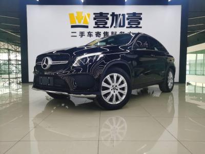 奔驰 奔驰GLE  2018款 GLE 320 4MATIC 轿跑SUV
