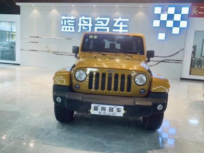 Jeep 牧马人  2014款 2.8TD Sahara 四门版