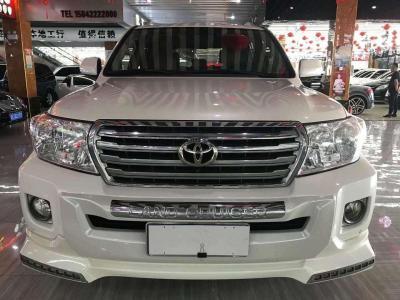2014年8月 丰田 兰德酷路泽(进口) 4.0L V6 中东低配版图片