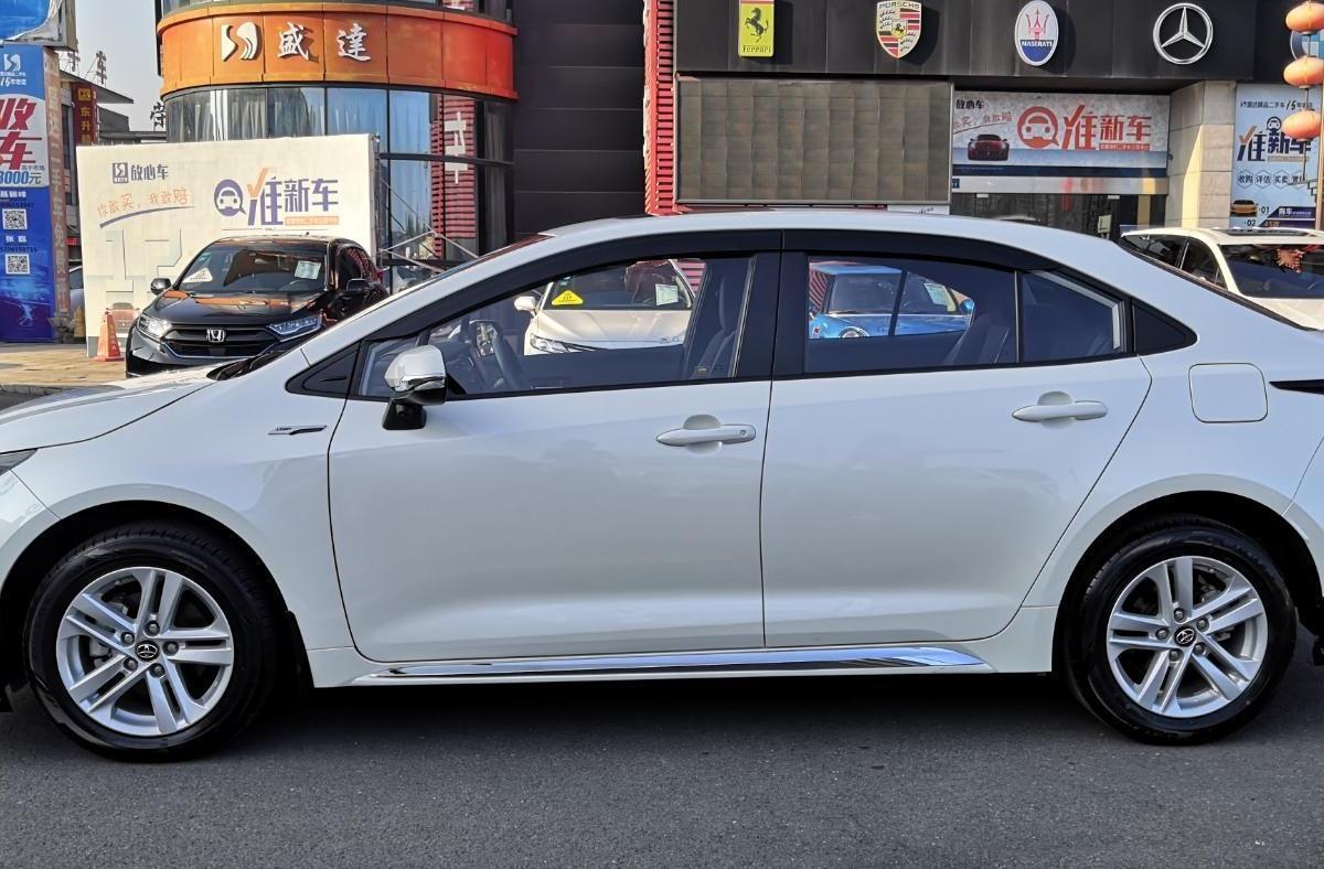 丰田 雷凌  2019款  185T CVT科技版 国VI图片