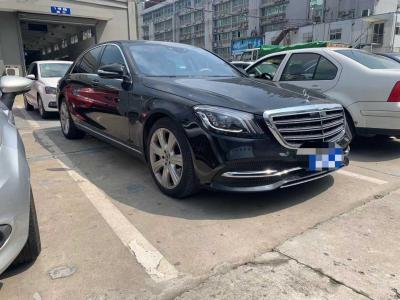 奔驰 奔驰S级  2019款 S 450 L