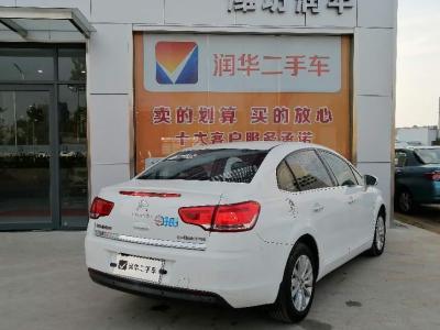 2012年8月 雪铁龙 世嘉 三厢 1.6L 手动品尚型图片