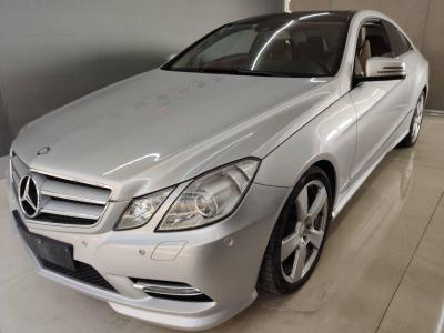 奔驰 奔驰E级  2012款 E 200 CGI Coupe图片