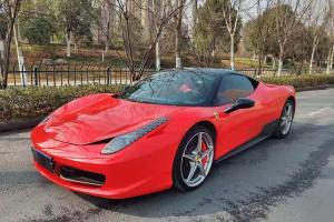2013年10月 法拉利 458  4.5L Italia图片