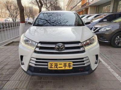 丰田 汉兰达  2018款 2.0T 四驱豪华版 7座