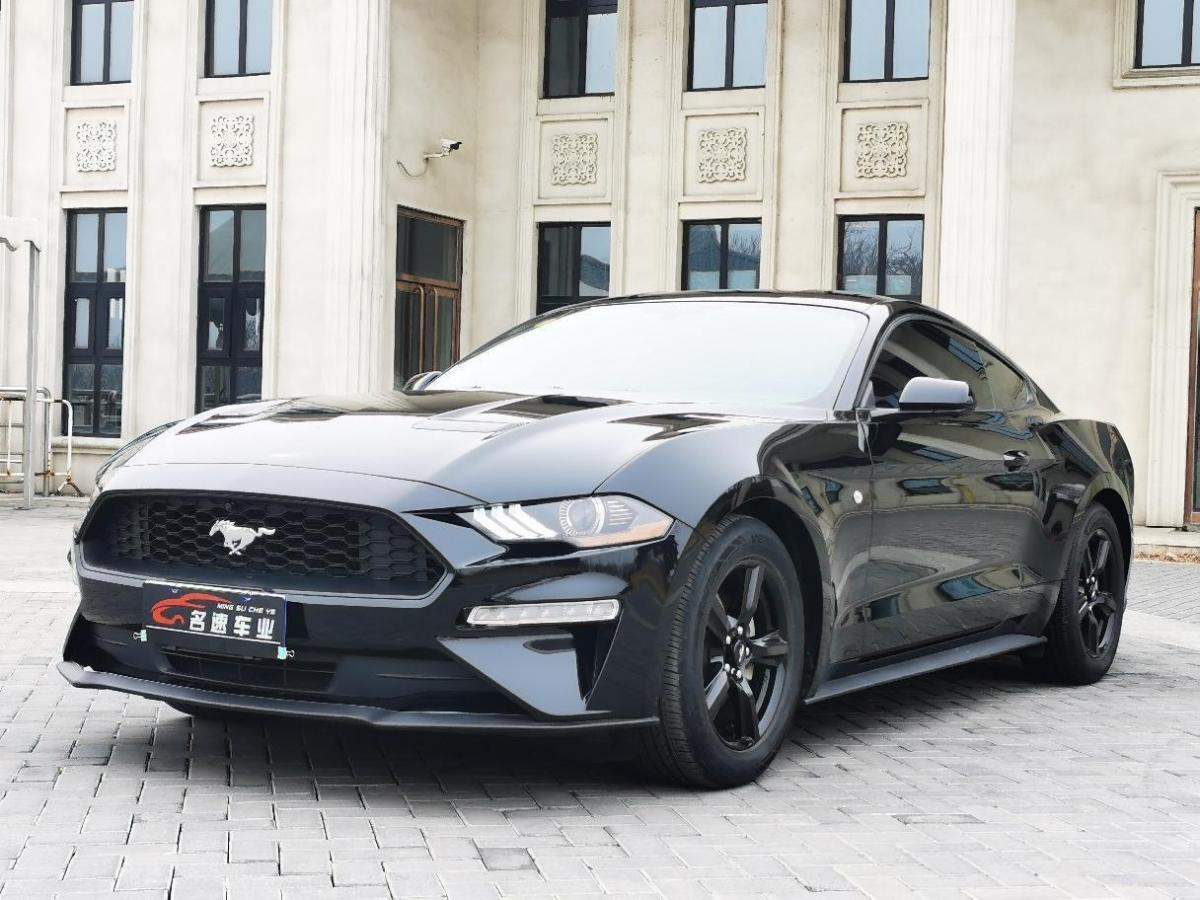 唐山二手福特Mustang2018款2.3LEcoBoost手自一体报价27.8万