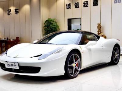 2012年1月 法拉利 458 4.5L 硬顶图片