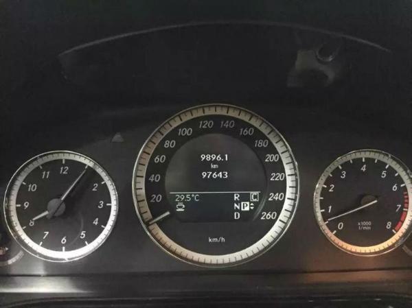 奔驰e300灯光按钮图解