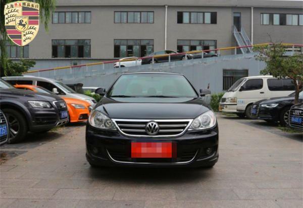 【上海】2010年8月 大众 朗逸 1.6 品轩版 黑色 手动挡