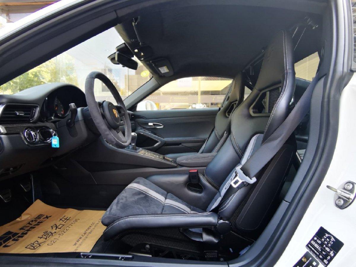 保时捷 911  2017款 GT3 4.0L图片