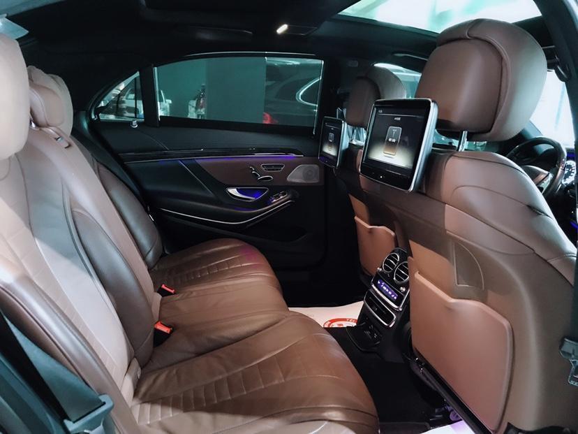 奔驰 奔驰S级  2014款 S500L 4.7T 4MATIC图片