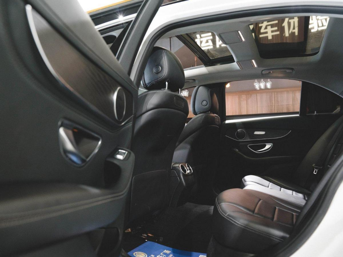 奔驰 奔驰C级  2017款 C200L 2.0T 运动型图片
