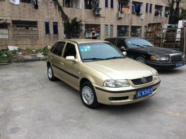 轿车 大众 上海大众 温州二手高尔 近年二手高尔比较