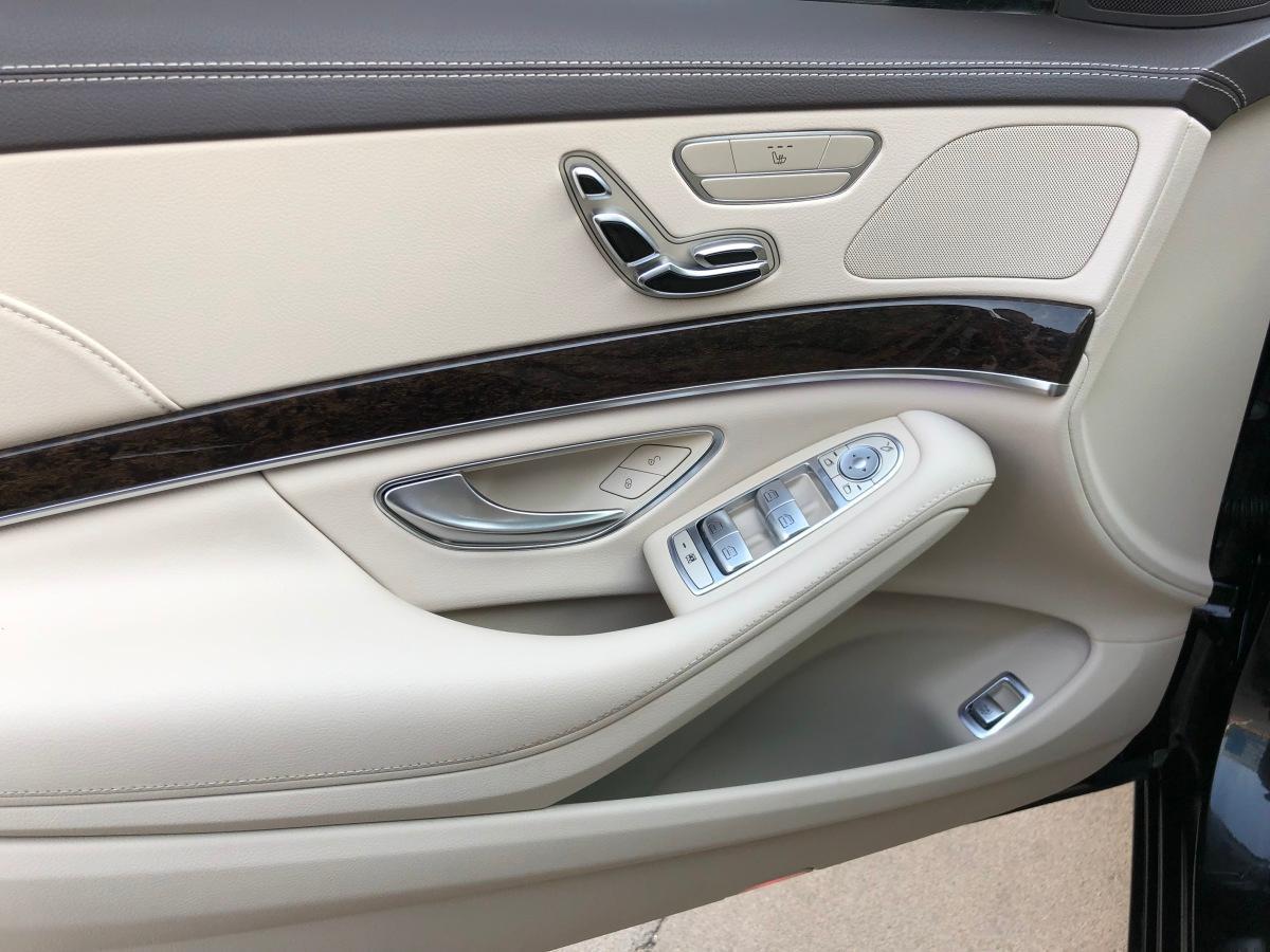 奔驰 奔驰S级  2017款 S 320 L 商务型升级版图片