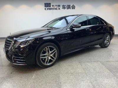 奔驰 奔驰S级  2018款 S450L 3.0T 4MATIC