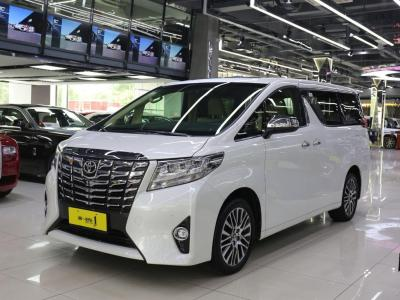 丰田 埃尔法  2018款 3.5L 尊贵版