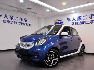 smart forfour  2016款 0.9T 66千瓦极致版