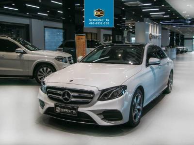 奔馳 奔馳E級  2018款 改款 E 300 L 豪華型