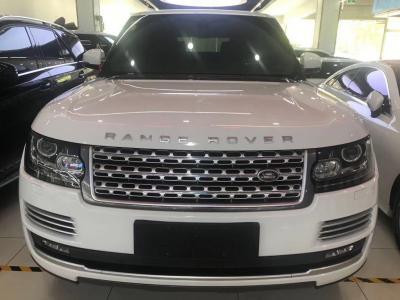 2018年5月 路虎 揽胜行政版  3.0T SC Vogue 汽油型图片