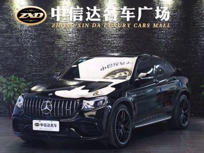 奔驰 奔驰GLC AMG  2018款 AMG GLC 63 S 4MATIC+ 轿跑SUV图片