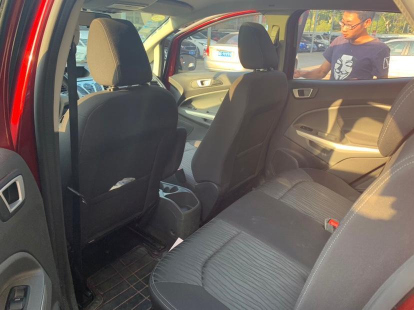 福特 翼搏  2013款 1.0L GTDi 手动尊贵型图片