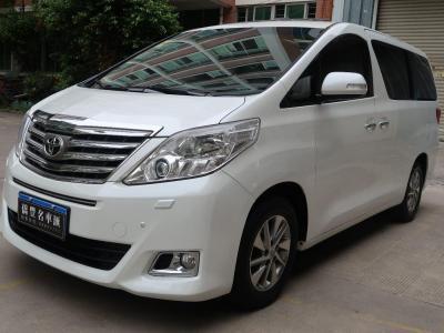 丰田 埃尔法  2012款 3.5L 豪华版