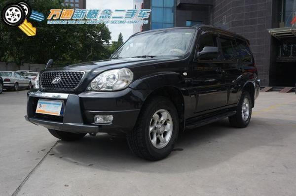 【西安】2012年2手动泰特拉卡t92.4四驱豪华型钥匙月华挡长安cs35车怎么下黑色了图片