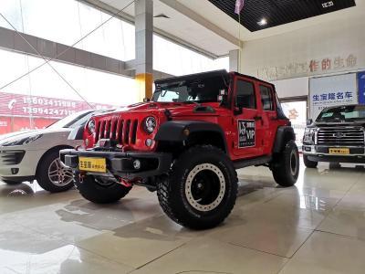 Jeep 牧马人  2015款 3.6L Rubicon 四门舒享版图片