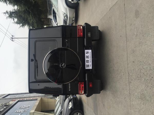 【苏州】2011年6月 奔驰 g级 g500 5.5 黑色 自动档