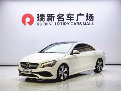 奔驰 奔驰CLA级  2019款 CLA 200 时尚型