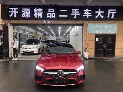 奔馳 奔馳A級  2019款  改款 A 200 L 運動轎車