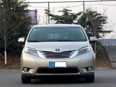 丰田 塞纳(进口) 3.5L 四驱最高配图片