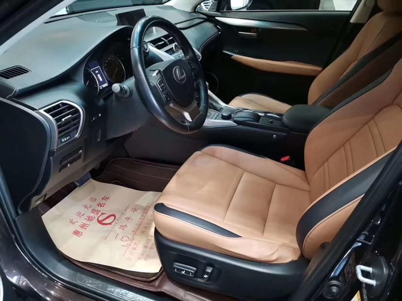雷克萨斯 NX  2015款 200t 全驱 锋尚版图片