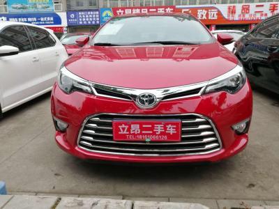 豐田 雷凌  2017款 1.2T V CVT豪華版圖片